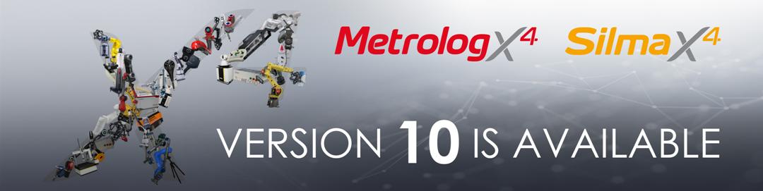Metrolog X4 a Silma X4 verze 10 jsou nyní dostupné!