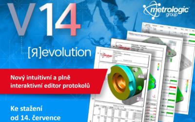 Nová verze V14 softwarů Metrolog X4 a Silma X4