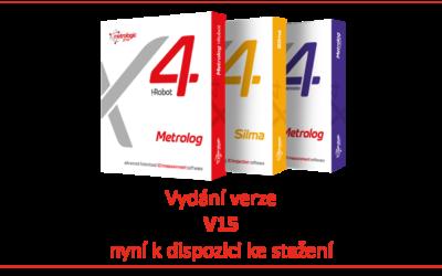 Nové vydání V15 softwarů Metrolog X4 a Silma X4 přináší 5osá vylepšení a další