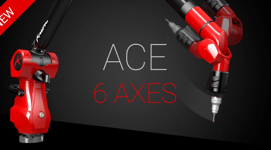 ACE+ nová verze 6osých ramen ACE