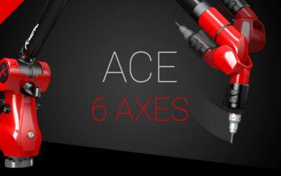 ACE + nová verze 6osých ramen ACE