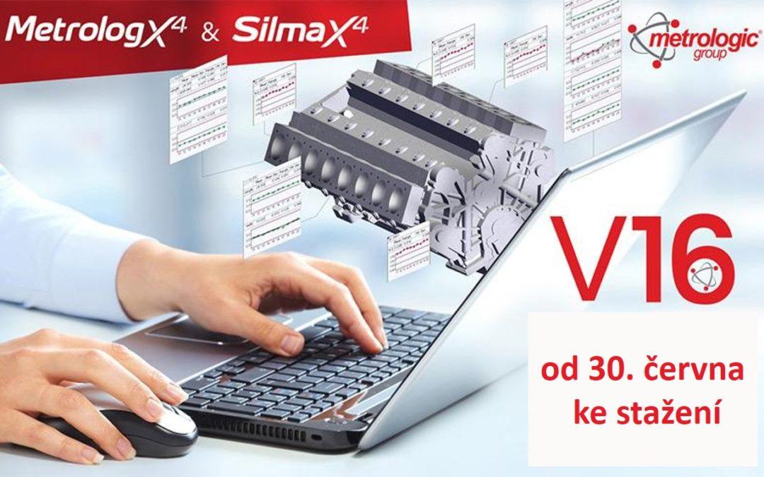 V16 – nová verze softwarů Metrolog X4 a Silma X4 k dispozici