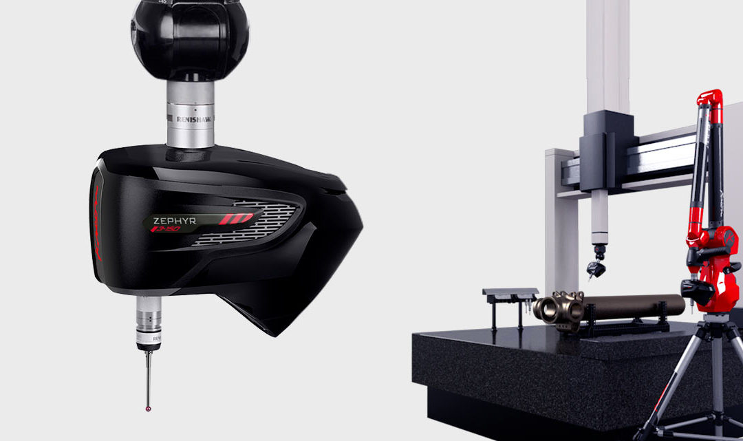 Skenery KREON Zephyr III: všestranné využití na CMM, měřicích ramenech a dalších strojích